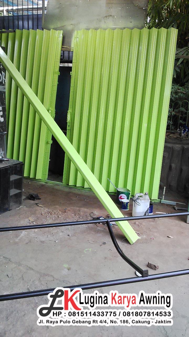 folding gate lugina karya awning 2