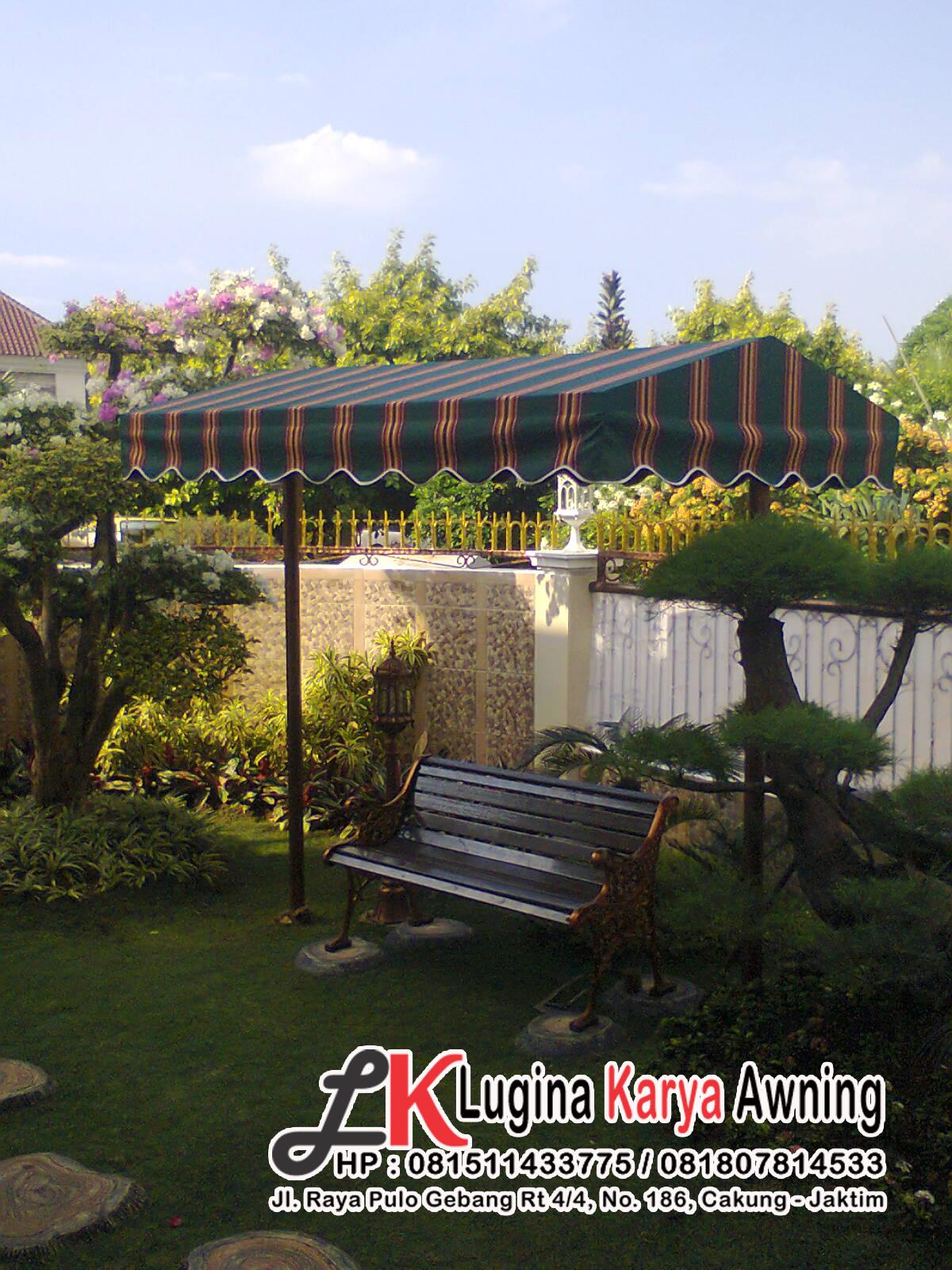 Canopy kain murah ala Lugina Karya Awning
