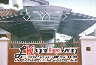 polycarbonate lugina karya awning canopy kain 32