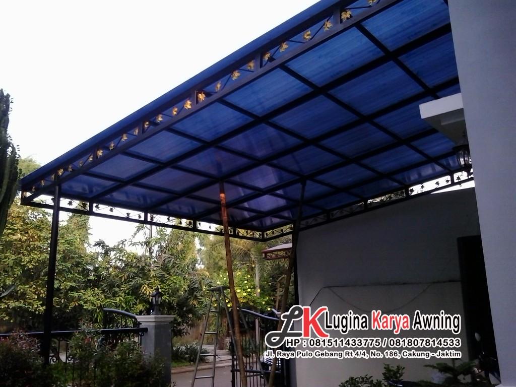 polycarbonate lugina karya awning canopy kain 34