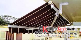 awning gulung lugina karya awning